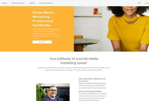 Social Media Marketing Professional Certificate