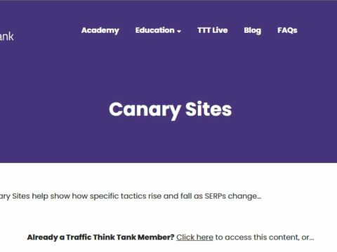 Canary Sites