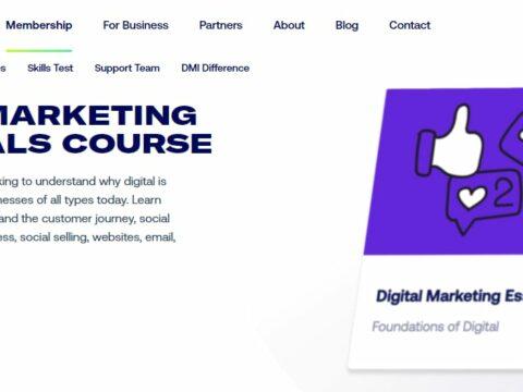 DMI Track Foundation Certificate In Digital Marketing