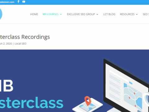 GMB Masterclass Recordings