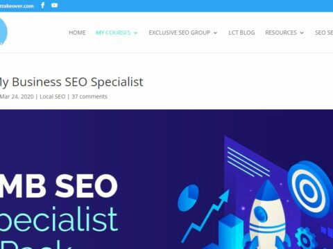 Google My Business SEO and Local Maps Training Course
