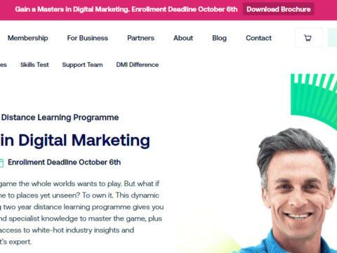 DMI Master Masters in Digital Marketing