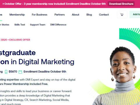 DMI Expert Postgraduate Diploma in Digital Marketing