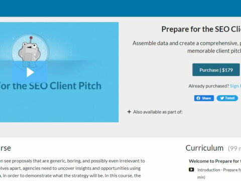 Prepare for the SEO Client Pitch