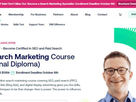 DMI Specialist Certified Search Marketing Specialist
