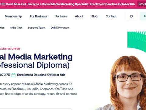 DMI Pro Professional Diploma in Digital Marketing