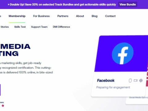 DMI Track Social Media Marketing