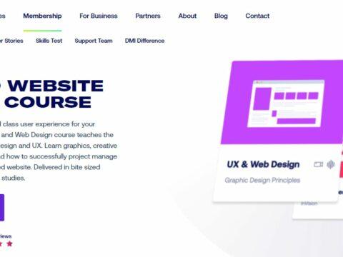 DMI Track UX and Website Design