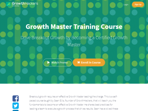 Growth Master Training Course