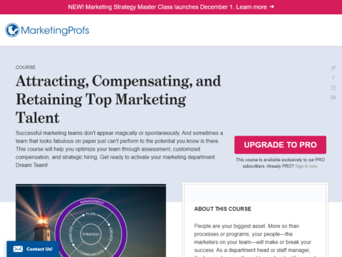 Attracting, Compensating, and Retaining Top Marketing Talent