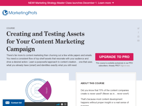 Creating and Testing Assets for Your Content Marketing Campaign