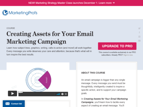 Creating Assets for Your Email Marketing Campaign