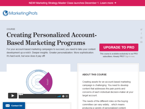 Creating Personalized Account-Based Marketing Programs