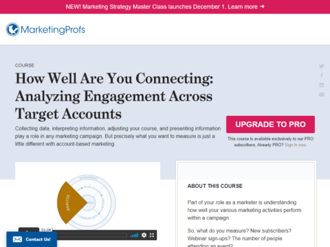 How Well Are You Connecting:Analyzing Engagement Across Target Accounts