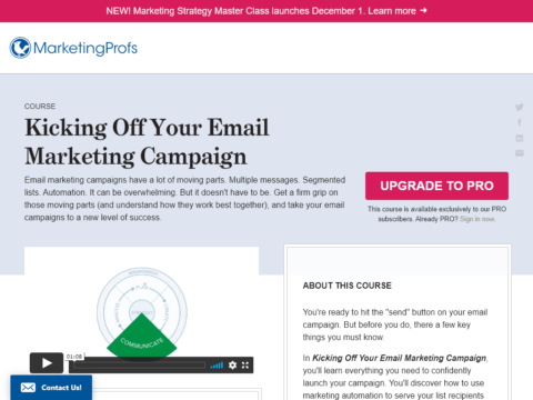 Kicking Off Your Email Marketing Campaign