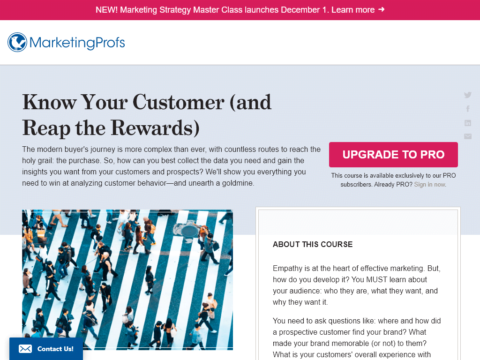 Know Your Customer (and Reap the Rewards)
