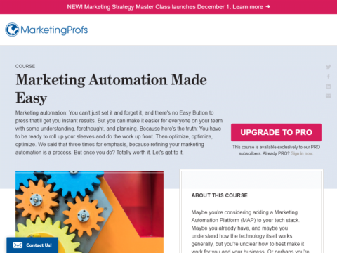 Marketing Automation Made Easy