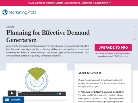 Creating Content for Effective Demand Generation