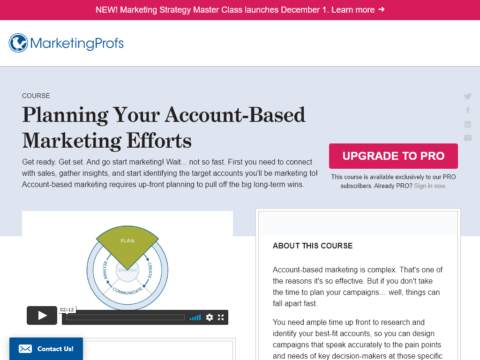 Planning Your Account-Based Marketing Efforts
