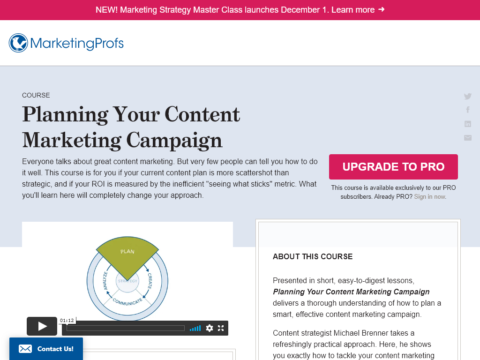 Planning Your Content Marketing Campaign