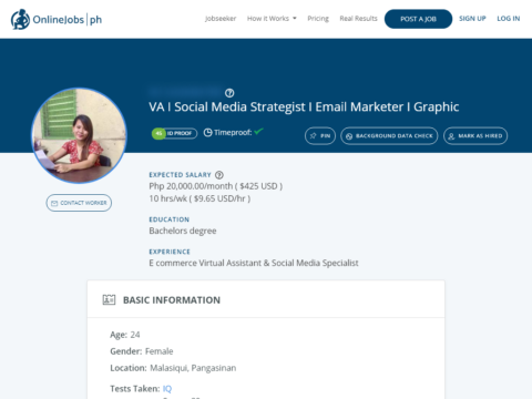 VA I Social Media Strategist I Email Marketer I Graphic