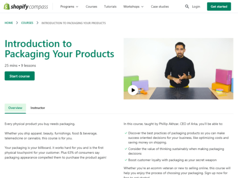 Introduction to Packaging Your Products