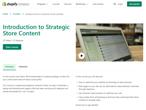 Introduction to Strategic Store Content