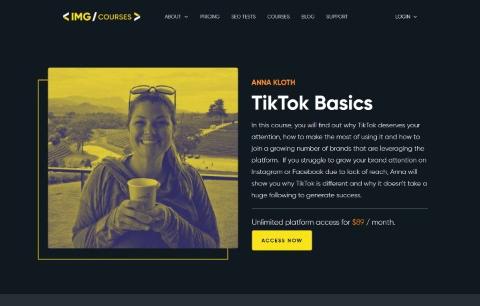 Tik Tok Basics Course