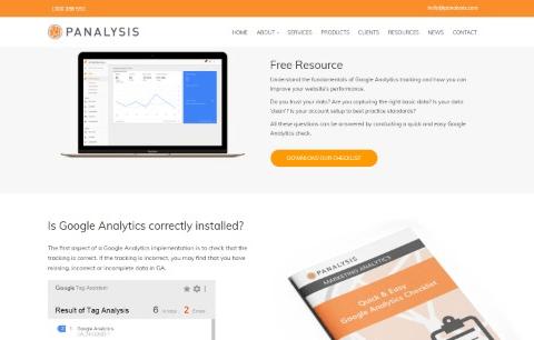 Google Analytics Checklist