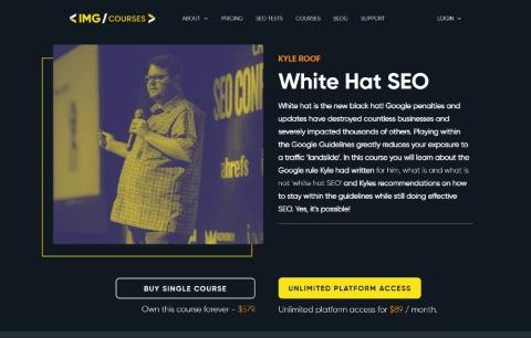 White Hat SEO Course