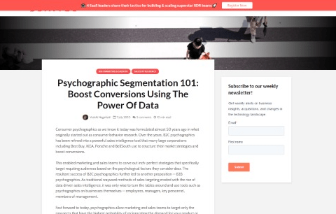 Psychographic Segmentation 101: Boost Conversions Using The Power Of Data