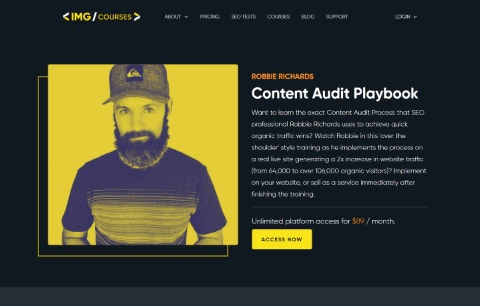 Content Audit Playbook Course
