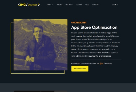 App Store Optimization course