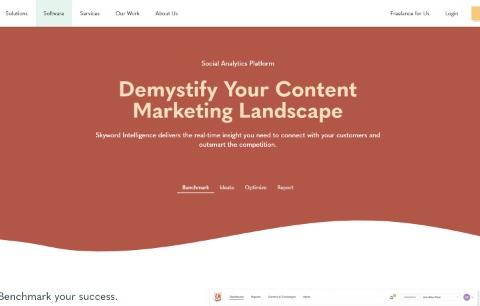 Skyword – Social Analytics Platform