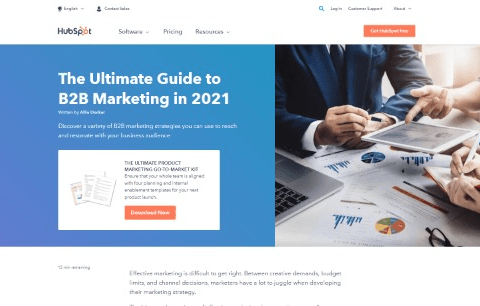 The Ultimate Guide to B2B Marketing in 2021