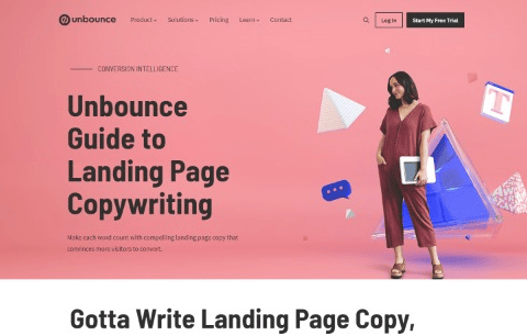 Unbounce Guide to Landing Page Copywriting