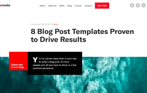 8 Blog Post Templates Proven to Drive Results