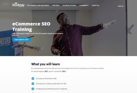 eCommerce SEO Training
