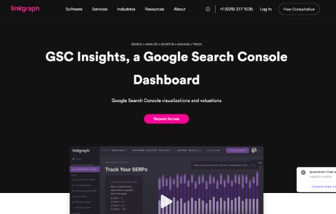 Google Search Console Dashboard - GSC Insights by LinkGraph