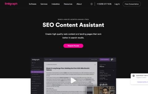 SEO Content Assistant - LinkGraph