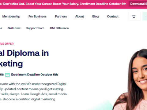 DMI Professional Diploma in Digital Marketing